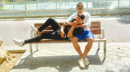 For Akshay Kumar 'every day is a Father's Day' with son Aarav, Twinkle Khanna calls him 'best son in the world'. See photos