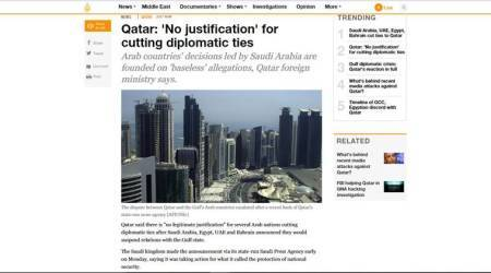 How the Gulf media reported Qatar's boycott by Saudi, Bahrain, UAE, Egypt
