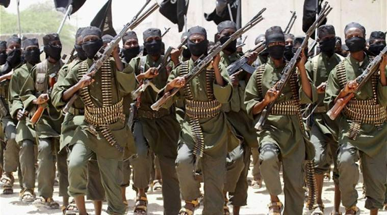 al-Shabab, Somalia, al shabab fighters killed, Somalia attack, Somalia military, , Af-Urur camp, ISIS, Indian express news