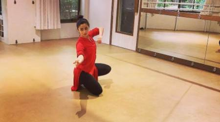 Alia Bhatt is keeping busy with dance and fitness during her monsoon break, see photos and videos