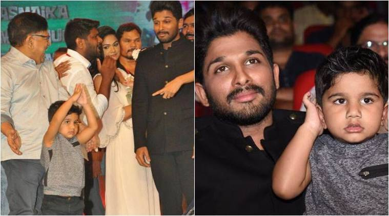 Allu Arjun's son Ayaan was the star of Duvvada Jaggannadham music