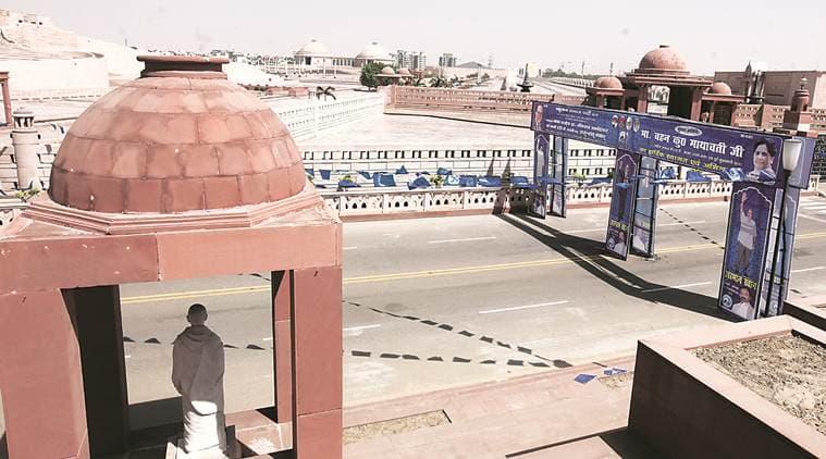 Ambedkar Park, Kansi Ram, Mayawati,BSP, Suheldev Rajbhar