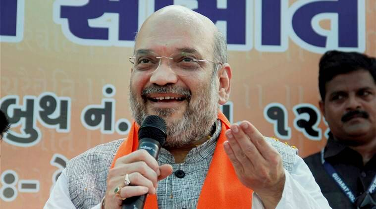 Amit Shah, BJP Chief Amit Shah, Mahatma Gandhi, Amit Shah Gandhi, BJP Chief Gandhi, India News, Indian Express, Indian Express News