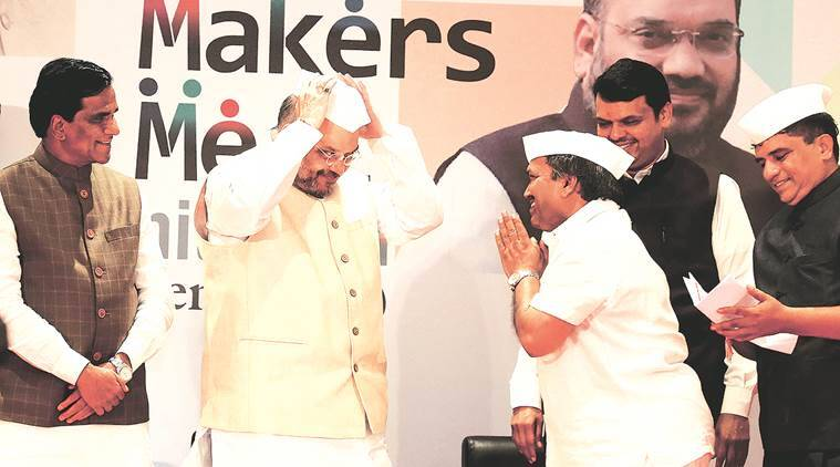 Amit Shah, Devendra fadnavis, Gross State Domestic Product, agricultural growth