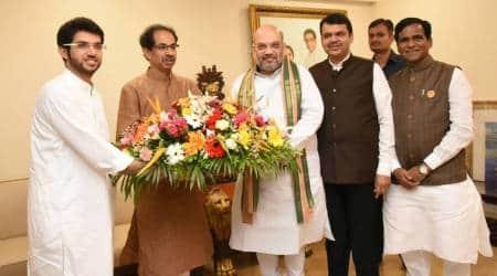 'Cordial' meeting between Amit Shah, Uddhav Thackeray on Presidentpoll