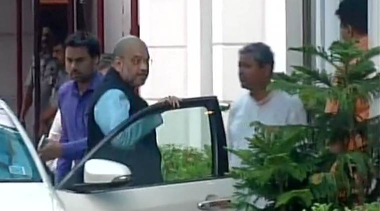 Presidential election, BJP, Amit Shah, BJP meeting, Nomination papers, Congress ,
