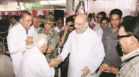 Congress govts took revenge as Gujarat was Sardar's state: Amit Shah