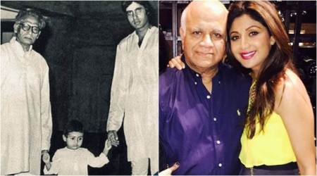 Amitabh Bachchan says everyday is Father's Day, Shilpa Shetty shares an emotional note. See photos