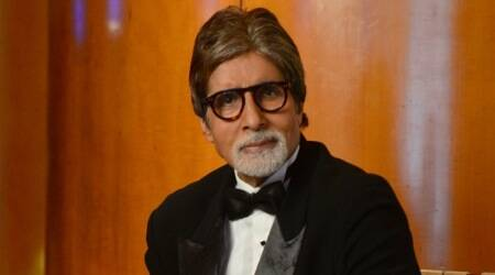 Amitabh Bachchan surprised by Polish girl singing Kajra Re