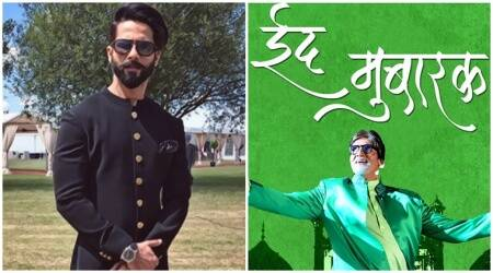 Eid Mubarak: From Amitabh Bachchan to Shahid Kapoor, Bollywood's warmest Eid wishes for you
