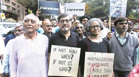 Black bands, protest placards and a message of unity at Pune's 'Not in my Name' march