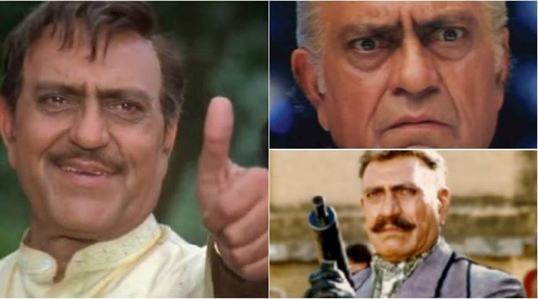 happy birthday amrish puri, amrish puri age, amrish puri films, dilwale dulhania le jayenge, naayak, karan arjun, amrish puri death, amrish puri bollywood