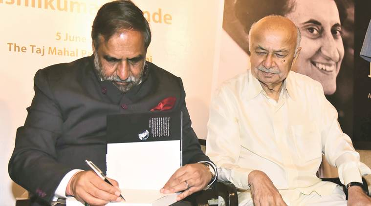 congress leader, Anand sharma, history, rewriting history, India's Indira: A Centennial Tribute