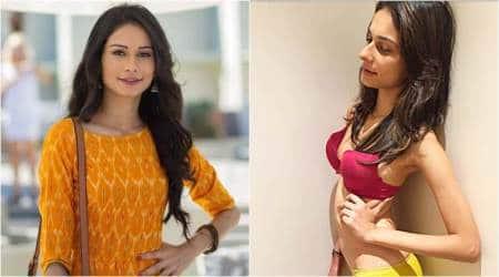 Aneri Vajani aka Saanjh of Beyhadh falls prey to body shamers after posting photo in lingerie, seephoto