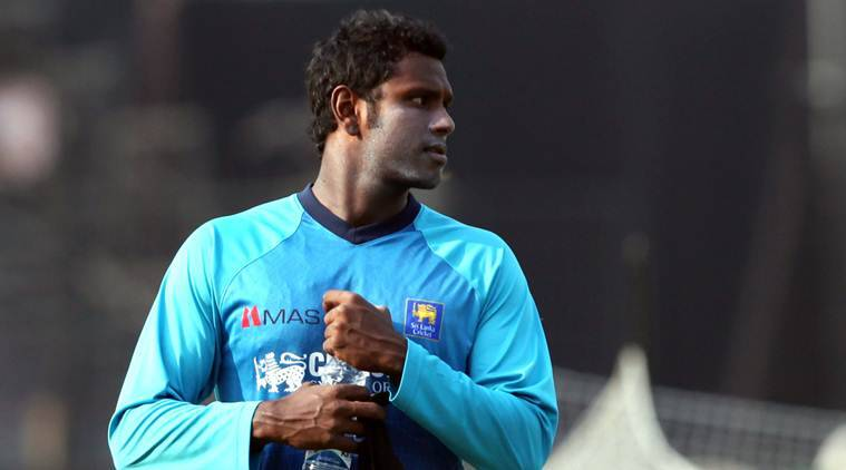 angelo mathews, sri lankan cricket team, sri lanka captain, cricket news, sports news, indian express
