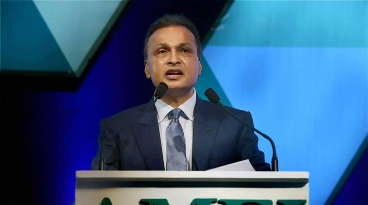 anil ambani, reliance group, indian express