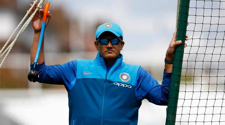 Kumble will remain coach for WI tour, says CoA head Vinod Rai
