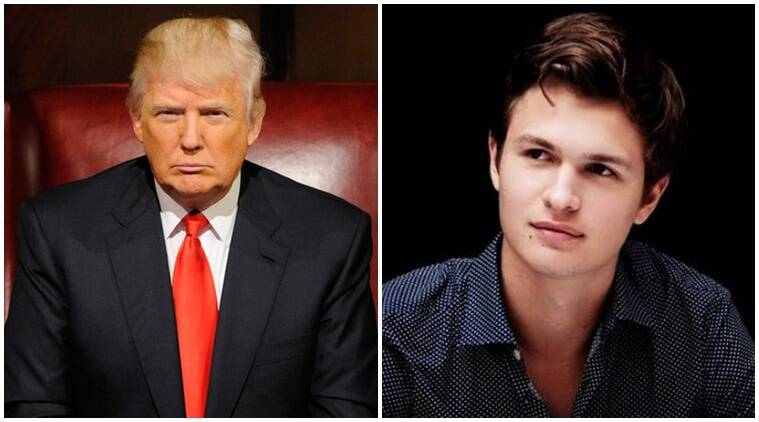ansel elgort, donald trump, ansel donald, ansel donald photos