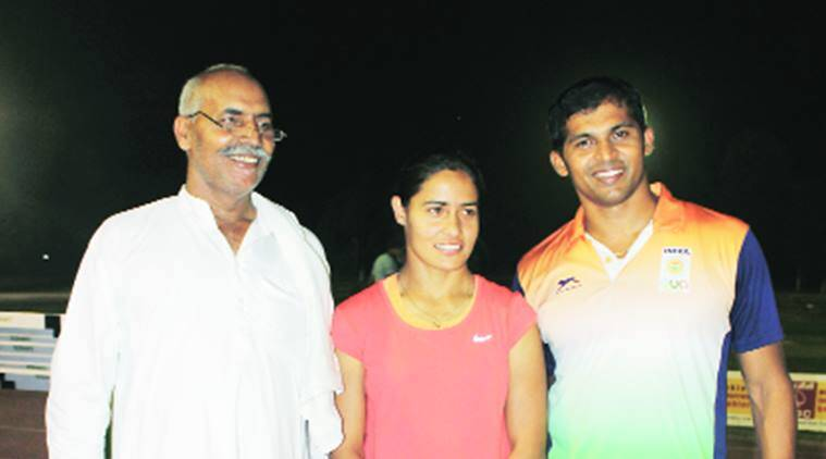 anu rani javelin throw, athletics, federation cup, sports news, indian express