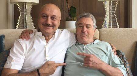 Anupam Kher is over the moon on having lunch with Silver Linings Playbook co-star Robert Di Niro