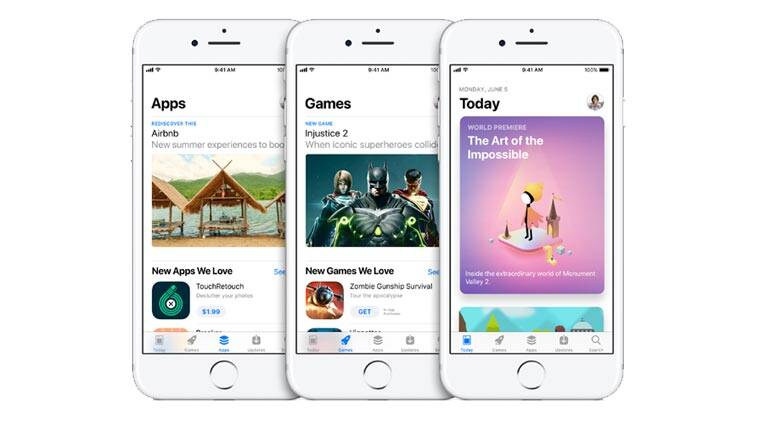Apple, Apple WWDC 2017, Apple App Store, Apple iOS 11, iOS 11, iOS 11 features, Apple iOS 11 features, App Store, App Store redesign, App Store design, Apple WWDC news