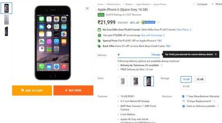 Flipkart Father's Day sale: Apple iPhone 6 at Rs 21,999, but should you get it?