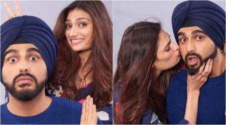 Mubarakan stars Arjun Kapoor and Athiya Shetty dazzle fans together. See photo