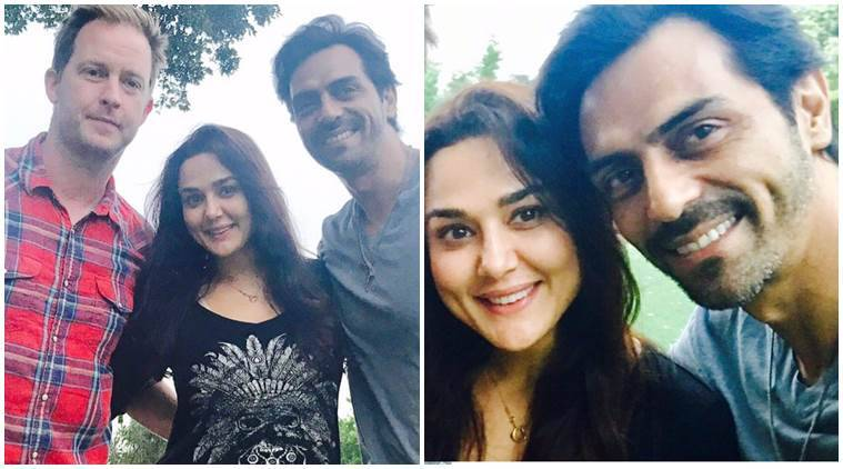 arjun rampal had an amazing la visit thanks to preity zinta and her