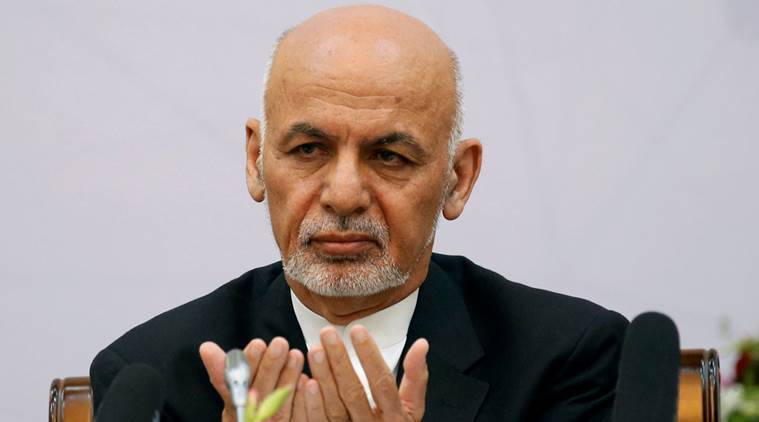 ashraf ghani, afghanistan president, president ghani, taliban, afghanistan taliban relations, latest world news, indian express