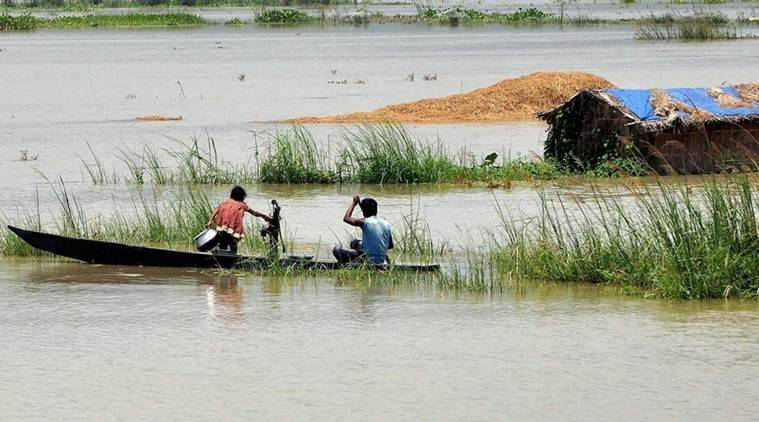 floods in Assam, people affected by floods in Assam news, people in Assam news, Assam State Disaster Management Authority, Assam floods, Indian Airforce news, India news, national news,