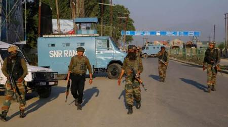 Srinagar attack, jammu and kashmir, CRPF