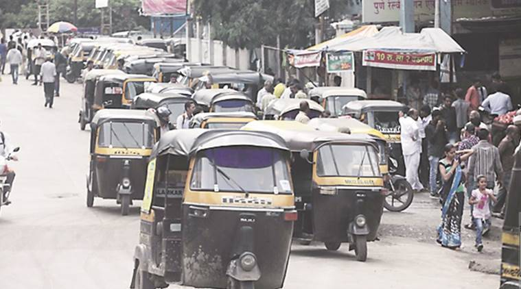 Maharashtra Government, New cap on auto rickshaw permits, 97 cap on auto-rickshaws,   new auto-rickshaw permits, Ministry of Road Transport and Highways, Pune RTO, Pune News, Indian Express News