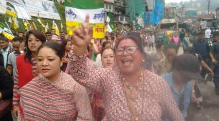 Protest marches in Darjeeling as shutdown enters 10th day