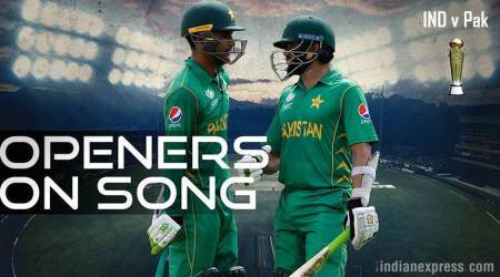 Azhar Ali, Fakhar Zaman, India vs Pakistan Final, Ind vs Pak, ICC Champions Trophy 2017, Cricket news, Indian Express
