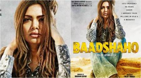 Baadshaho poster: Esha Gupta is the 'badass bombshell' of Ajay Devgn's gang, see photo