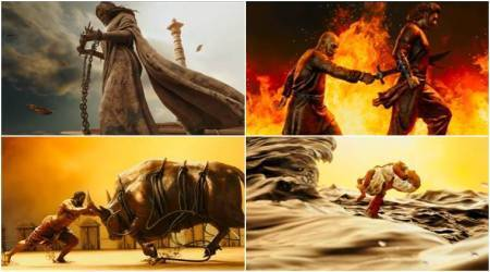 Baahubali 2 Oka Pranam song video: The title song reminds us of the dramatic highs of SS Rajamouli film. Watch video