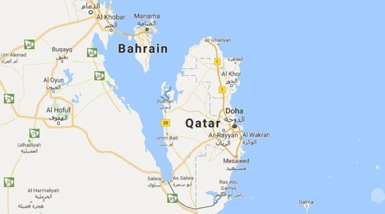Bahrain Saudi Cut Ties With Qatar In A Move To Protect Themselves - Map of qatar and egypt