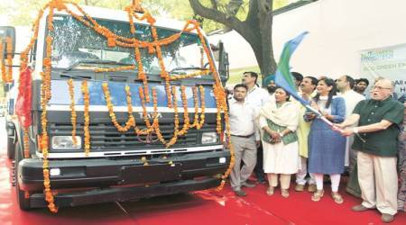 SDMC mobile transfer stations join sanitation fight to segregate waste