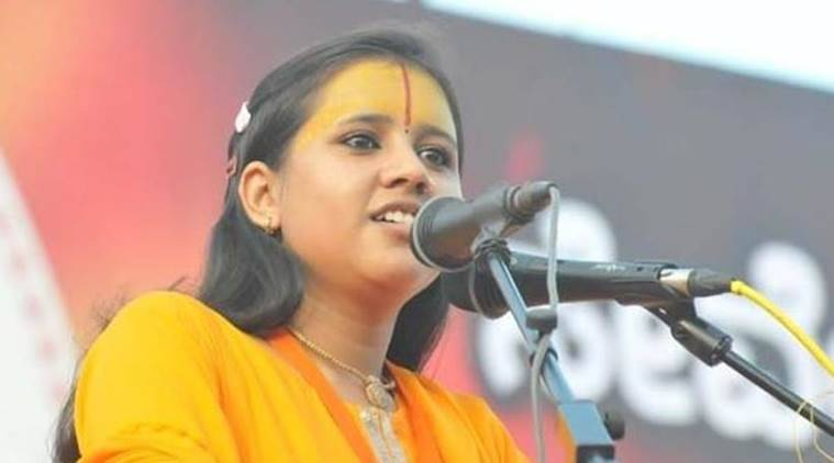 Hang those who eat beef as status symbol: Sadhvi Saraswati