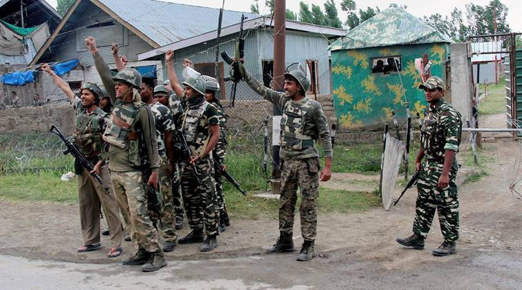 crpf, jammu and kashmir, india news, indian express news