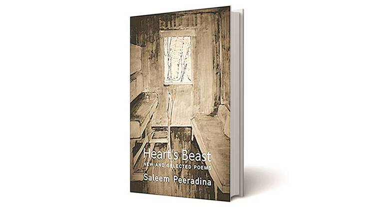 Heart's Beast, Heart's Beast: New and Selected Poems, Saleem Peeradina, Copper Coin, indian express books review