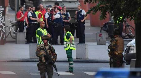 Police confirm Belgian troops 'neutralising' person at Brussels station postblast