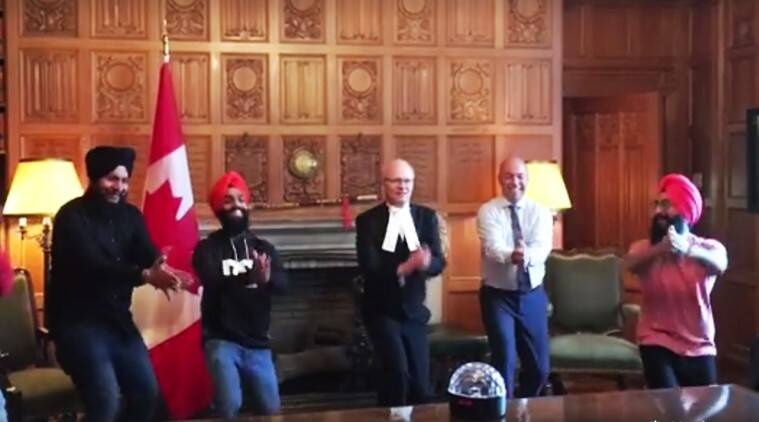 canadian mps bhangra video, maritime bhangra group, maritime bhangra group canada, maritime bhangra group videos, canada mps maritime bhangra group video viral, andy fillmore bhangra video viral, andy fillmore facebook, indian express, indian express news