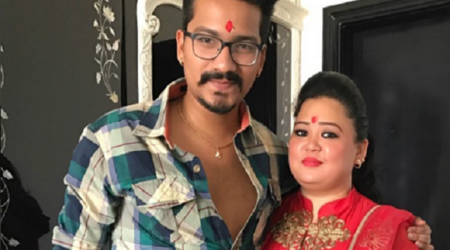 Bharti Singh, Haarsh Limbachiyaa engagement photos reveal Bharti as coy bride-to-be, see photos