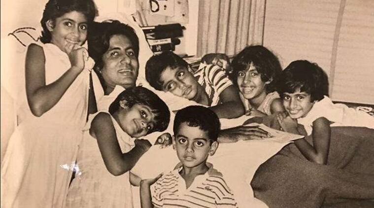 abhishek bachchan throwback thursday picture, amitabh bachchan accident during coolie 1985, abhishek amitabh memories, abhishek amitabh family pictures,