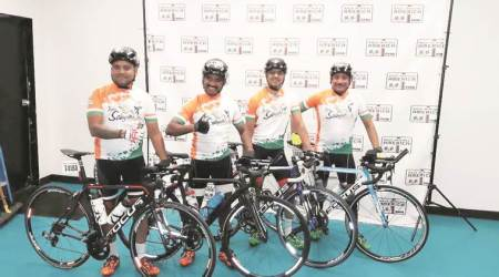 To ensure eye care for kids in Bihar, team of doctors takes part in gruelling bike race