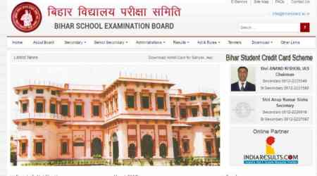 Bihar Board 10th result 2017 out: Check matric result online at biharboard.ac.in