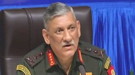 Army Chief General Bipin Rawat in Kashmir to review security situation