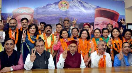 Kusum Sadret: BJP gets its first mayor in Shimla