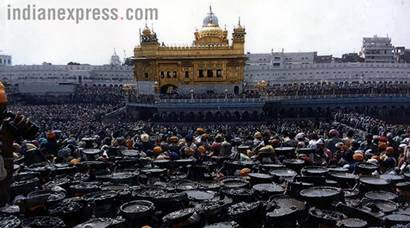 Operation Blue Star's 33rd anniversary: Rare pictures from Express Archives